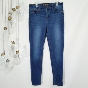 Enjean Skinny Jeans Size 7 Faded Distressed